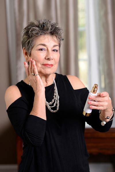 Linda Wright - Jafra Cosmetics<br /> <br /> Photo by Randy Litzinger