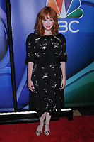13 May 2019 - New York, New York - Christina Hendricks at the NBC 2019/2020 Upfront, at the Four Seasons Hotel. Photo Credit: LJ Fotos/AdMedia