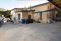 Veteran's housing, 4520 Toland Way, Eagle Rock, Los Angeles, Jan. 23, 2019.<br /> (Photo by Marc Campos, Occidental College Photographer)