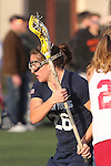 Santa Barbara, CA 02/18/12 - Elizabeth Calderwood (BYU #26) in action during the Arizona State vs BYU matchup at the 2012 Santa Barbara Shootout.  BYU defeated Arizona State 10-8.