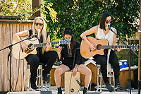 The Aces perform at The Zoe Report Presents the Third Annual ZOEasis on April 15, 2017 (Photo by Jason Sean Weiss / Guest of a Guest)