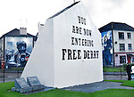 Bogside-Derry, Northern Ireland