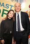 Kathryn Erbe and Frank Wood attends the press reception for the Opening Night of the Lincoln Center Theater Production of 'The Babylon Line'  at the Mitzi E. Newhouse Theatre on December 5, 2016 in New York City.
