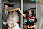 Taiwanese Wedding -- leaving the parental house... .