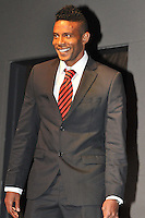 Lionard Pajoy of D.C. United during the 11th Annual Kickoff luncheon, at The Hamilton Live DC in Washington DC , Tuesday March 5, 2013.
