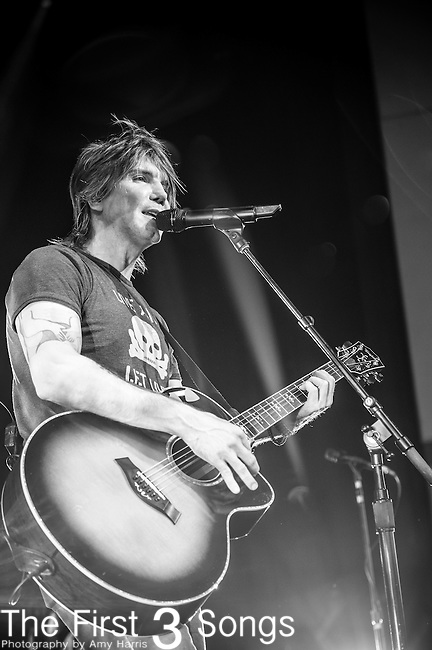 John Rzeznik of the Goo Goo Dolls performs at Riverbend Music Center in Cincinnati, Ohio.