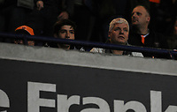 Blackpool fans watch their team in action <br /> <br /> Photographer Kevin Barnes/CameraSport<br /> <br /> The EFL Sky Bet League One - Bolton Wanderers v Blackpool - Monday 7th October 2019 - University of Bolton Stadium - Bolton<br /> <br /> World Copyright © 2019 CameraSport. All rights reserved. 43 Linden Ave. Countesthorpe. Leicester. England. LE8 5PG - Tel: +44 (0) 116 277 4147 - admin@camerasport.com - www.camerasport.com
