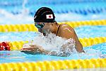 Satomi Suzuki (JPN), <br /> AUGUST 19, 2018 - Swimming : <br /> Women's 100m Breaststroke Final <br /> at Gelora Bung Karno Aquatic Center <br /> during the 2018 Jakarta Palembang Asian Games <br /> in Jakarta, Indonesia. <br /> (Photo by Naoki Nishimura/AFLO SPORT)