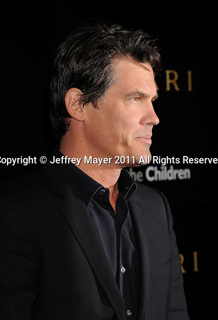 LOS ANGELES, CA - January 13: Josh Brolin attends Save The Children's U.S. Programs And Artists For Peace And Justice Hosted By Bulgari at Ron Burkle's Green Acres Estate on January 13, 2011 in Beverly Hills, California.