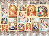 Alfredo, CHRISTMAS SANTA, SNOWMAN, decoupage, paintings(BRTOD1504CP,#X#,#DP#) Weihnachten, Navidad, illustrations, pinturas