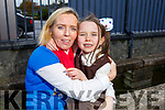 Mary Lacey with her daughter Amelia who suffers fro epilepsy launching the fundraiser for Epilepsy Kerry in the Austin Stacks Clubhouse on Thursday.