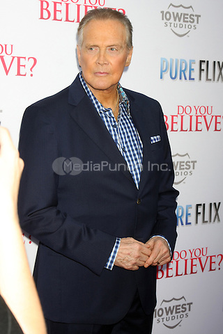 Lee Majors at the 'Do You Believe?' Los Angeles Premiere at ArcLight Hollywood on March 16, 2015 in Hollywood, California. Credit: David Edwards/Daily Celeb/MediaPunch