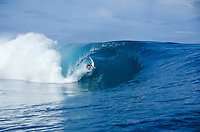 Paul Canning (ZAF) , Billabong Pro Teahupoo, Tahiti. 2002.photo:  joliphotos.com