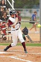 SAN ANTONIO , TX - APRIL 27, 2009: The Texas A&M International University Dustdevils vs. The University of Texas of the Permian Basin Falcons Softball during Day 1 of the Heartland Conference Softball Tournament at Rattler Field on the campus of St. Mary's University. (Photo by Jeff Huehn)