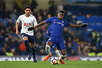 Daishawn Redan of Chelsea in action during Chelsea Under-23 vs Tottenham Hotspur Under-23, Premier League 2 Football at Stamford Bridge on 13th April 2018