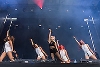 Swedish music Zara Larsson at Dcode music festival in Madrid. September 10, 2016. (ALTERPHOTOS/Rodrigo Jimenez) /NORTEPHOTO.COM