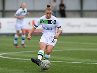 20180815 - Zulte , BELGIUM : OHL's Karlijn Knapen pictured during a friendly pre season soccer match between the women teams of Zulte Waregem Dames and OHL Oud Heverlee Leuven Dames  , Wednesday 15 August 2018 . PHOTO DAVID CATRY   SPORTPIX.BE