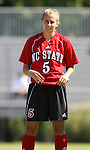 NC State's Tami Krzeszewski on Sunday, October 1st, 2006 at Koskinen Stadium in Durham, North Carolina. The Duke Blue Devils defeated the North Carolina State University Wolfpack 3-0 in an Atlantic Coast Conference NCAA Division I Women's Soccer game.
