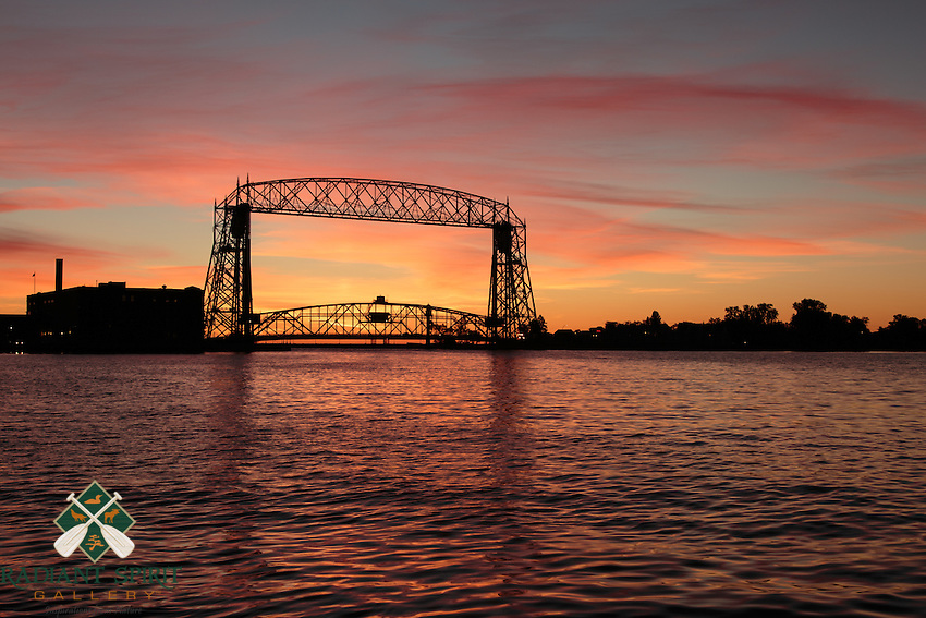&quot;Lift Bridge at Sunrise&quot;<br />