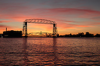 """Lift Bridge at Sunrise""<br />