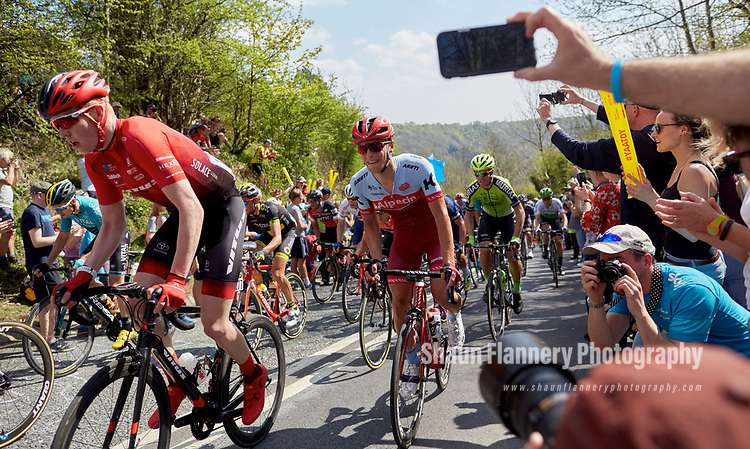 Picture by Shaun Flannery/SWpix.com - 05/05/2018 - Cycling - 2018 Tour de Yorkshire - Stage 3: Richmond to Scarborough - Yorkshire, England<br /> <br /> Sutton Bank, North Yorkshire