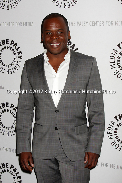 """LOS ANGELES - OCT 16:  Ray Ford arrives at  An Evening With """"Happy Endings"""" And """"Don't Trust The B---- In Apartment 23"""" at Paley Center For Media on October 16, 2012 in Beverly Hills, CA"""