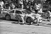 Michael Waltrip makes a pit stop, Daytona 500, NASCAR Winston Cup race, Daytona International Speedway, Daytona Beach, FL, February 1994(Photo by Brian Cleary/bcpix.com)
