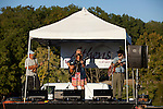 Performers at the Paw Paw Festival at lake Snowden in Albany, Ohio on September 14, 2013.