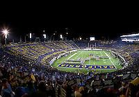October 6th, 2012: Memorial Stadium's Card Stunt during half time at Memorial Stadium, Berkeley, Ca    California defeated UCLA 43 - 17