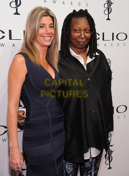 New York, NY- October 1: Nicole Purcell, Executive Vice President CLIO Awards, and Whoopi Goldberg attend the 2014 CLIO Awards on October 1, 2014 at Cipriani Wall Street in New York City.   <br /> CAP/RTNSTV<br /> &copy;RTNSTV/MPI/Capital Pictures