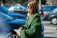Christine Centenera at Paris Fashion Week (Photo by Hunter Abrams/Guest of a Guest)