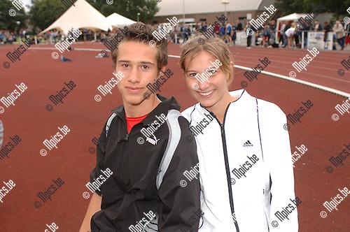 VK Atletiek: Frederik Lemmens met zijn zus Karolien