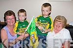 2776.Flying the flag in The Kerins O'Rahilly's GAA Club were l/r Josie, Dylan & Jonathon Browne and Lillian Inchley....................................... ............   Copyright Kerry's Eye 2008