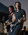 Rick Springfield performs during Hot August Nights at the Grand Sierra Resort in Reno, Nevada on Friday, August 11, 2017.