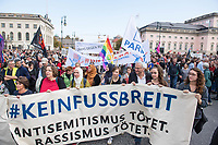2019/10/13 Politik | Berlin | Demonstration gegen Antisemitismus