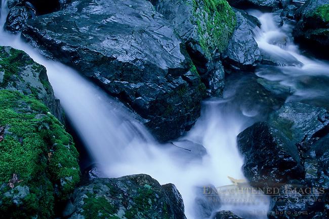 Cascades along Sonoma Creek, Sugarloaf Ridge State Park, Sonoma County, California