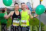 Chris Grayson and Fozzy Forristal runners at the Kerry's Eye Tralee, Tralee International Marathon and Half Marathon on Saturday.