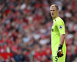 West Ham's Joe Hart in action during the premier league match at Old Trafford Stadium, Manchester. Picture date 13th August 2017. Picture credit should read: David Klein/Sportimage