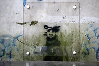 2019 02 20 Possible Banksy, Llanelli, Carmathenshire, Wales, UK