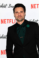 "LOS ANGELES - JAN 28:  Brett Dalton at the ""Velvet Buzzsaw"" Los Angeles Premiere Screening at the Egyptian Theater on January 28, 2019 in Los Angeles, CA"