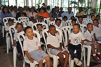 Acto para certificar centros educativos como espacio de buen trato.Fotos: Carmen Suárez/acento.com.do.Fecha: 20/01/2012.