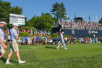 Justin Thomas (USA) heads down 12 during 1st round of the 100th PGA Championship at Bellerive Country Cllub, St. Louis, Missouri. 8/9/2018.<br /> Picture: Golffile | Ken Murray<br /> <br /> All photo usage must carry mandatory copyright credit (© Golffile | Ken Murray)