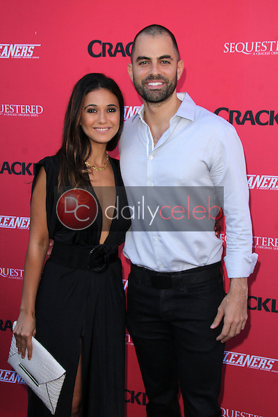Emmanuelle Chriqui<br /> at the Crackle Summer Premieres of 'Sequestered' and 'Cleaners' 1 OAK L.A, West Hollywood, CA 08-14-14<br /> David Edwards/Dailyceleb.com 818-249-4998