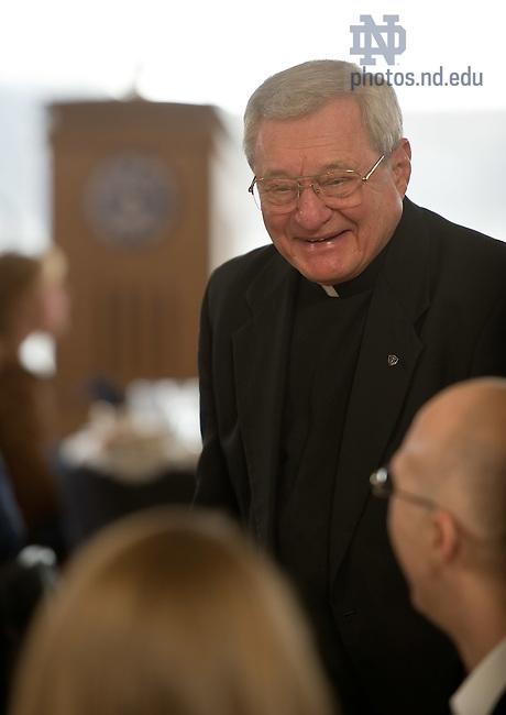 Feb. 28, 2012; Rev. Gregory Green, C.S.C...Photo by Matt Cashore/University of Notre Dame