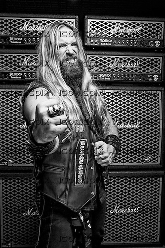 Black Label Society - Portraits of Zakk Wylde in Milton Keynes, England UK - July 22, 2010. *HIGHER RATES APPLY* *PREMIUM COLLECTION* **NO WEBSITES**