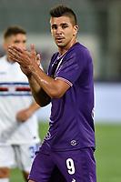 Giovanni Simeone Fiorentina <br /> Firenze 27-08-2017 Stadio Artemio Franchi Calcio Serie A Fiorentina - Sampdoria Foto Andrea Staccioli / Insidefoto
