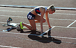 IPC European Athletics Championship 2014<br /> Swansea University<br /> <br /> Jenny McLoughlin (GBR) - women's 100m T37<br /> <br /> 19.08.14<br /> Chris Vaughan-SPORTINGWALES
