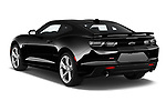 Car pictures of rear three quarter view of 2020 Chevrolet Camaro 2SS 2 Door Coupe Angular Rear