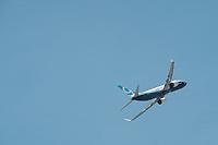 BOEING 737 MAX - LE 52E SALON AERONAUTIQUE DU BOURGET, LE BOURGET, FRANCE, LE 19/06/2017.