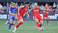 Portland, OR - Saturday May 27, 2017: Amandine Henry during a regular season National Women's Soccer League (NWSL) match between the Portland Thorns FC and the Boston Breakers at Providence Park.